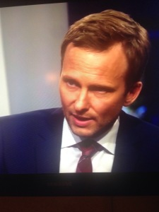 Agendas programledare Anders Holmberg.