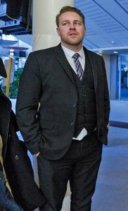 Mattias Karlsson från Sverigedemokraterna. Foto: Janerik Henriksson/TT
