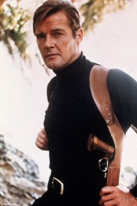 Roger Moore polo neck