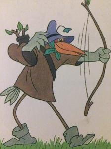 Robin Hood som stork