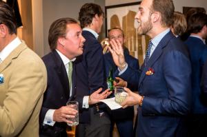 Fredrik af Klercker och modesidan Manolos Andres Weinås.