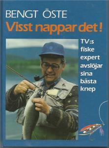 """Bengt Öste i en bokvariant av den populära tv-serien """"Visst nappar det""""."""