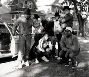 Hiphop-pionjärer i Bronx på 1970-talet.